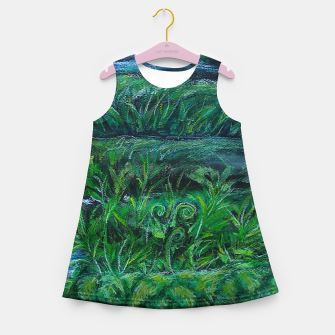 Thumbnail image of Moss and River Girl's summer dress, Live Heroes