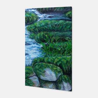 Thumbnail image of Moss and River Canvas, Live Heroes