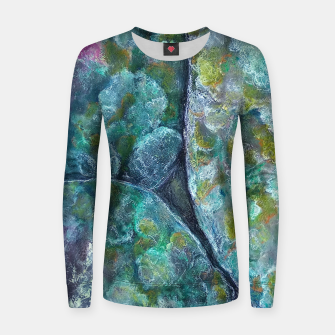 Thumbnail image of Moss and Stones  Women sweater, Live Heroes