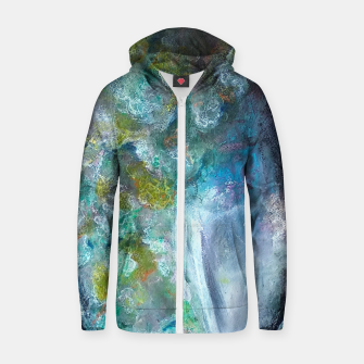 Thumbnail image of Moss and Stones  Zip up hoodie, Live Heroes