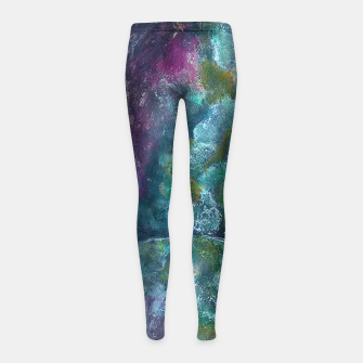 Thumbnail image of Moss and Stones  Girl's leggings, Live Heroes