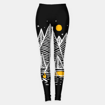 Miniatur Happy Camper Leggings, Live Heroes