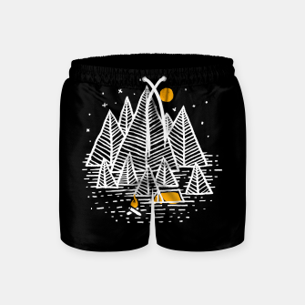 Miniatur Happy Camper Swim Shorts, Live Heroes