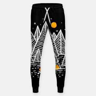 Miniatur Happy Camper Sweatpants, Live Heroes