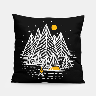 Miniatur Happy Camper Pillow, Live Heroes