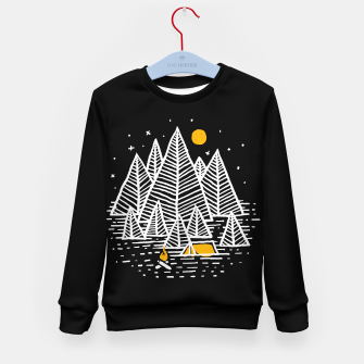 Miniatur Happy Camper Kid's sweater, Live Heroes
