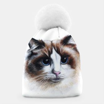 Thumbnail image of fluffy cat beanie, Live Heroes