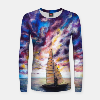 Imagen en miniatura de Marina Dreams  Sunset Women sweater, Live Heroes