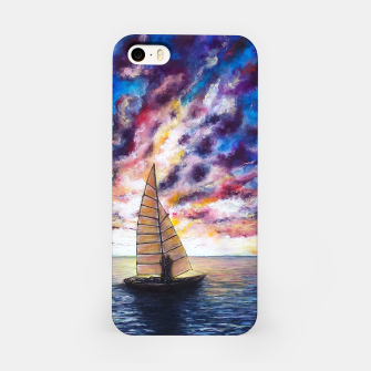 Imagen en miniatura de Marina Dreams  Sunset iPhone Case, Live Heroes