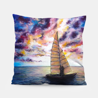 Imagen en miniatura de Marina Dreams  Sunset Pillow, Live Heroes