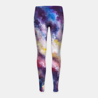 Imagen en miniatura de Marina Dreams  Sunset Girl's leggings, Live Heroes