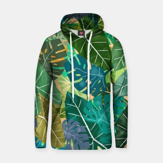 Thumbnail image of Elephant Ears and Monstera  Hoodie, Live Heroes