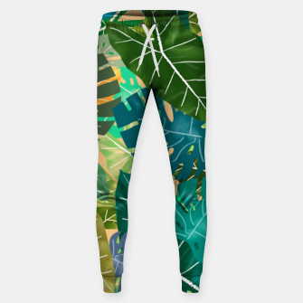 Thumbnail image of Elephant Ears and Monstera  Sweatpants, Live Heroes