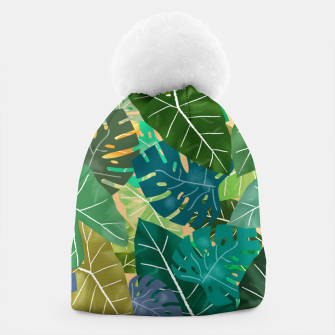 Thumbnail image of Elephant Ears and Monstera  Beanie, Live Heroes