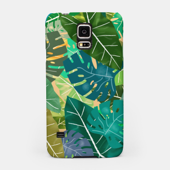 Thumbnail image of Elephant Ears and Monstera  Samsung Case, Live Heroes