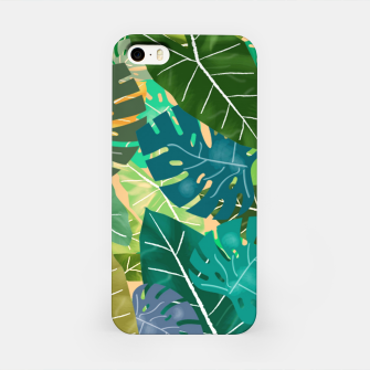 Thumbnail image of Elephant Ears and Monstera  iPhone Case, Live Heroes