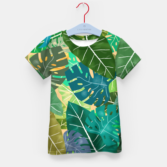 Thumbnail image of Elephant Ears and Monstera  Kid's t-shirt, Live Heroes