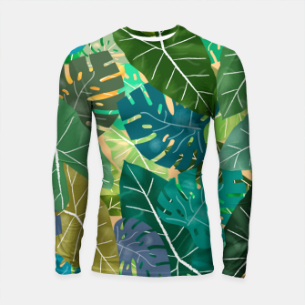 Thumbnail image of Elephant Ears and Monstera  Longsleeve rashguard , Live Heroes