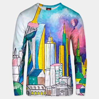 Miniatur Color Urbanization Unisex sweater, Live Heroes