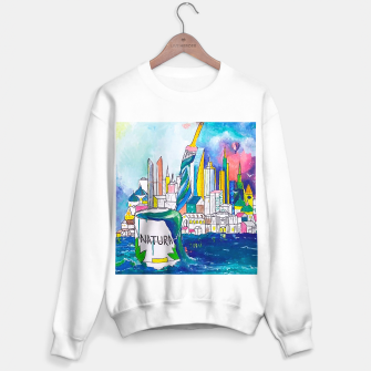 Miniatur Color Urbanization Sweater regular, Live Heroes