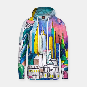 Thumbnail image of Color Urbanization Hoodie, Live Heroes