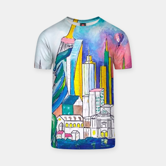 Miniatur Color Urbanization T-shirt, Live Heroes