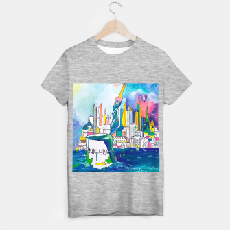 Miniatur Color Urbanization T-shirt regular, Live Heroes