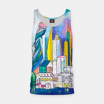 Miniatur Color Urbanization Tank Top, Live Heroes
