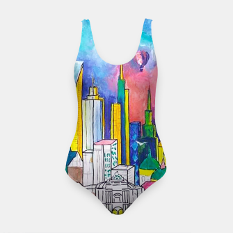 Miniatur Color Urbanization Swimsuit, Live Heroes