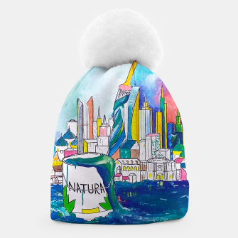 Thumbnail image of Color Urbanization Beanie, Live Heroes