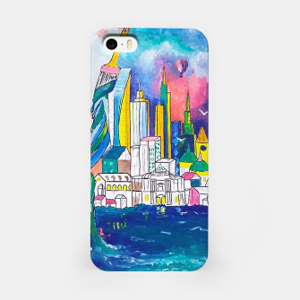 Miniatur Color Urbanization iPhone Case, Live Heroes