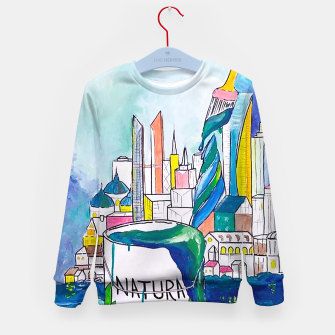 Miniatur Color Urbanization Kid's sweater, Live Heroes