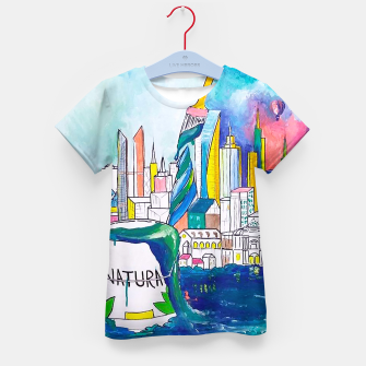 Miniatur Color Urbanization Kid's t-shirt, Live Heroes