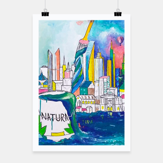 Thumbnail image of Color Urbanization Poster, Live Heroes