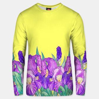 Thumbnail image of Flower-de-luce in yellow Unisex sweater, Live Heroes