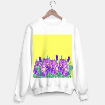 Thumbnail image of Flower-de-luce in yellow Sweater regular, Live Heroes