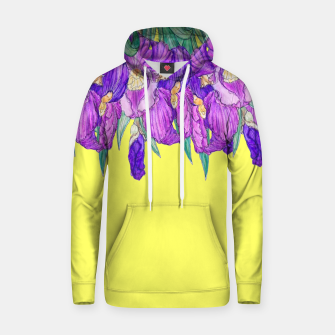 Thumbnail image of Flower-de-luce in yellow Hoodie, Live Heroes