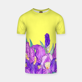 Thumbnail image of Flower-de-luce in yellow T-shirt, Live Heroes