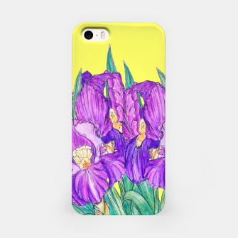 Thumbnail image of Flower-de-luce in yellow iPhone Case, Live Heroes