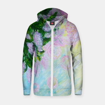 Thumbnail image of Summer Bubbles Zip up hoodie, Live Heroes