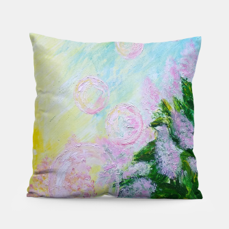Thumbnail image of Summer Bubbles Pillow, Live Heroes