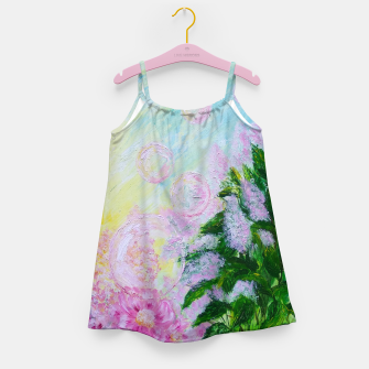Thumbnail image of Summer Bubbles Girl's dress, Live Heroes