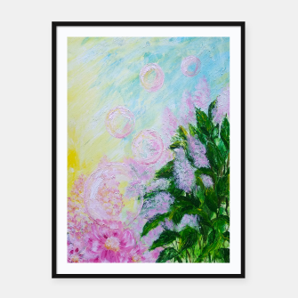 Thumbnail image of Summer Bubbles Framed poster, Live Heroes