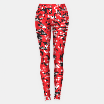 Dope Glitch Leggings obraz miniatury