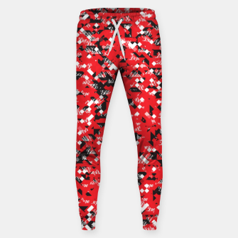 Dope Glitch Sweatpants obraz miniatury