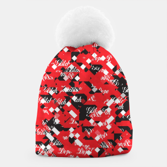 Thumbnail image of Dope Glitch Beanie, Live Heroes