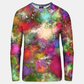 Thumbnail image of Falling petals Unisex sweater, Live Heroes