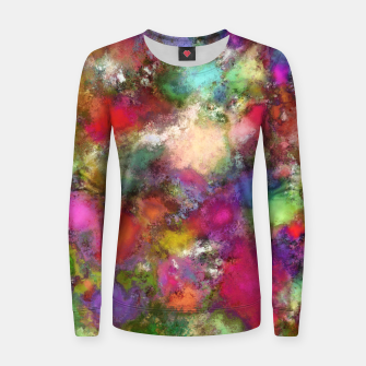 Thumbnail image of Falling petals Women sweater, Live Heroes