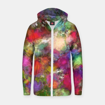 Thumbnail image of Falling petals Zip up hoodie, Live Heroes