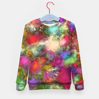 Thumbnail image of Falling petals Kid's sweater, Live Heroes